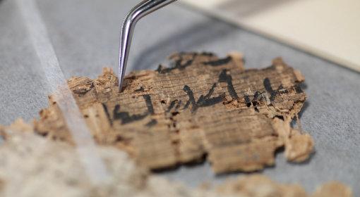 Papyrus Konservierung