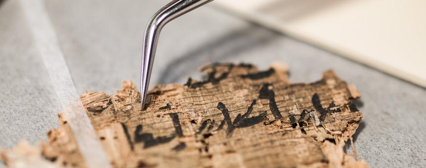 Papyrus konservieren und restaurieren